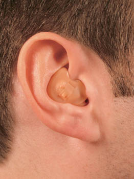 hearing instrument in the ear